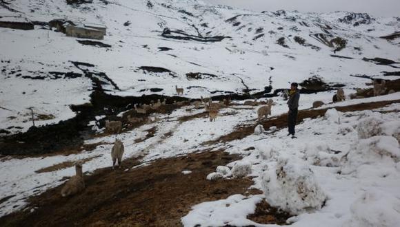Senamhi pronostica granizo y lluvias en la sierra sur