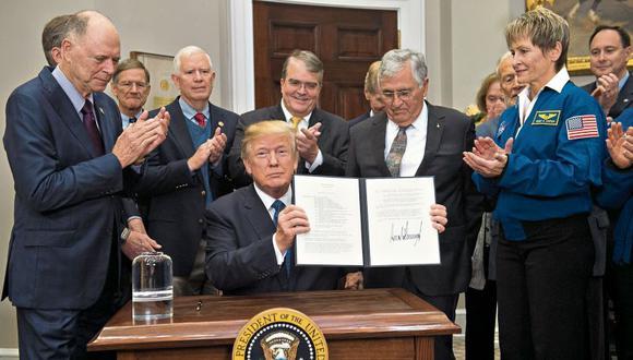 Un libro del célebre Bob Woodward revela los nuevos planes nucleares del inquilino de la Casa Blanca. [Foto: AFP]