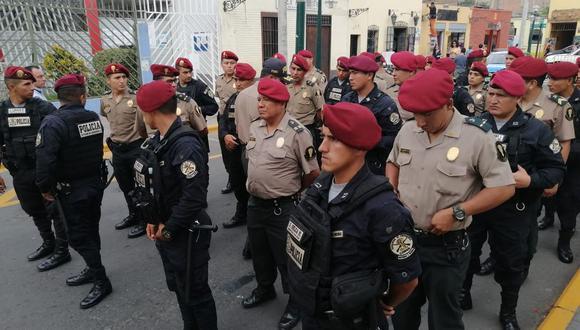 Los policías vigilarán las zonas de Surco donde se han registrado incidentes delictivos. (Foto: difusión)