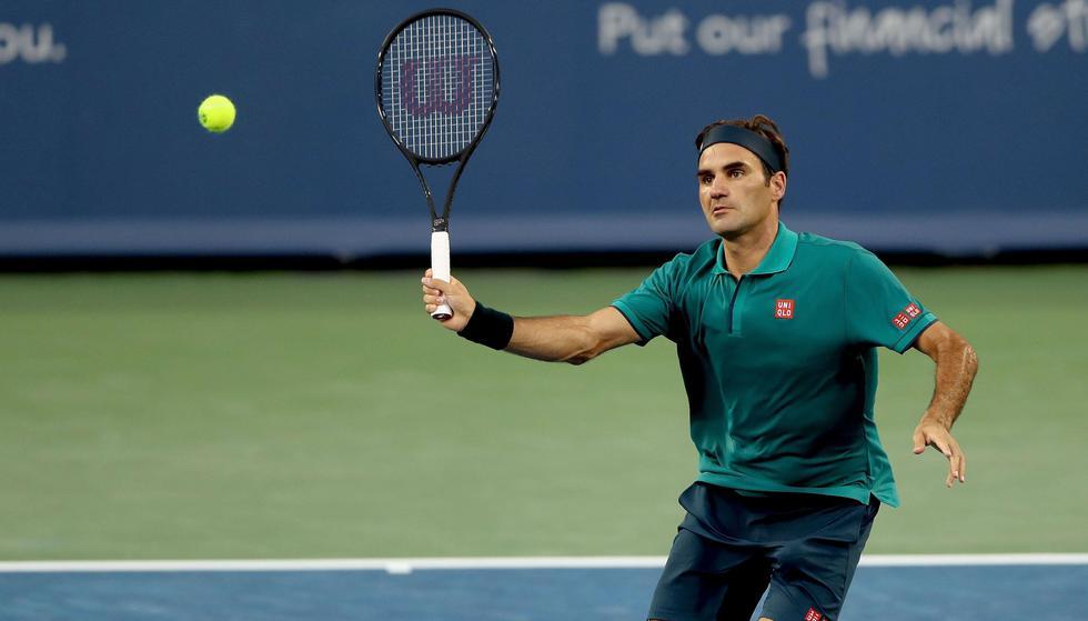 Federer vs. Lóndero: mejores imágenes del partido. (Foto: AFP)