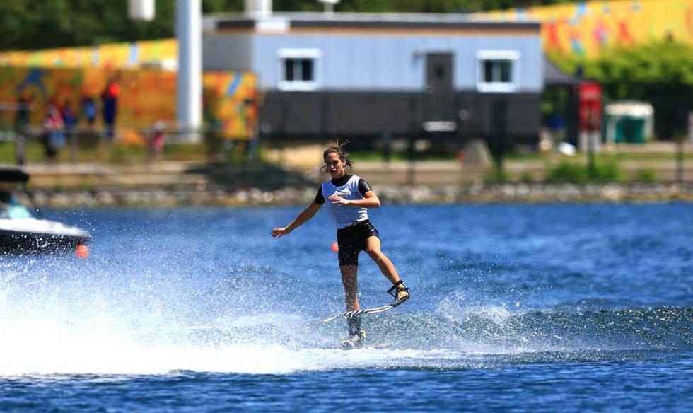 Natalia Cuglievan: así ganó el oro haciendo figuras en esquí  - 7
