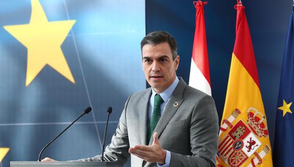 Pedro Sánchez anunció que España empezará a vacunar contra el coronavirus en enero del 2021. (AFP).