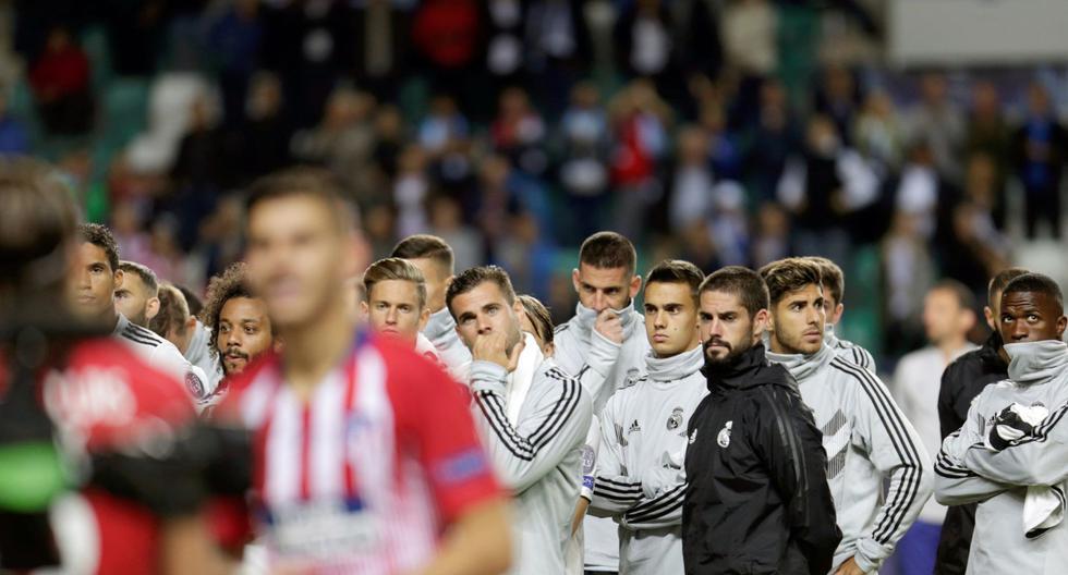 Real Madrid perdió la Supercopa de Europa 2018 ante Atlético de Madrid | Foto: EFE