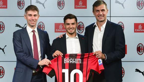 Brahim Díaz usó la dorsal '21' en su primera temporada en AC Milan. (Foto: AC Milan)
