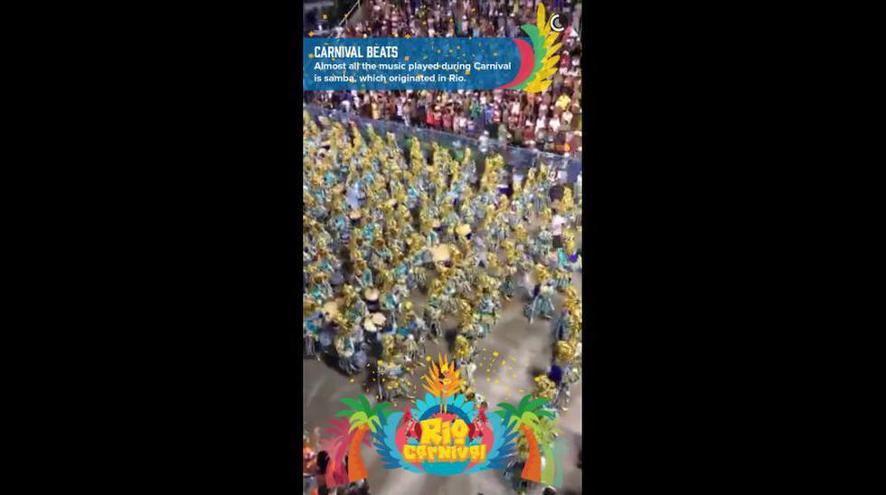 Snapchat y los divertidos videos del Carnaval de Río 2016 - 5