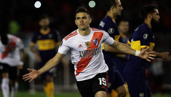 Rafael Santos Borré es una de las figuras de River Plate en la temporada, además de su goleador. (Foto: Agencias)