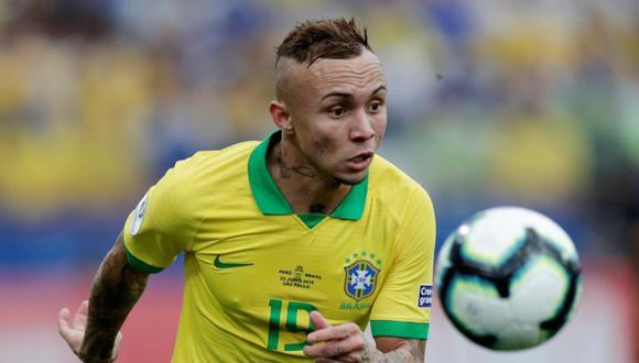 Everton se consagró como el goleador de la Copa América 2019. (Foto: Reuters)