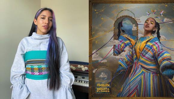 """Hoy a las 9 pm la cantante peruana hará el lanzamiento de su primer Álbum """"ISQUN"""" (NUEVE), vía YouTube. (Fotos: IG/ @renatafloresrivera)"""