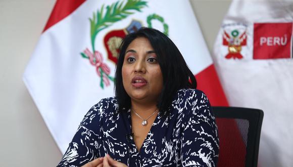 La ministra de Justicia, Ana Neyra, aseguró que el presidente Martín Vizcarra no puede ser vacado por el audio que lo involucra con el Caso Richard Swing. (Foto: GEC)