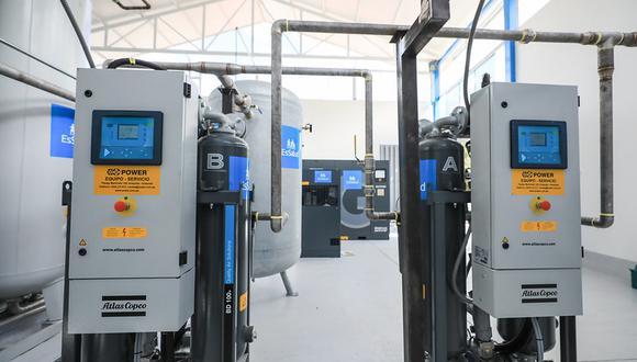 Essalud puso en funcionamiento planta de oxígeno medicinal en hospital II de Abancay. (Foto: Seguro Social)