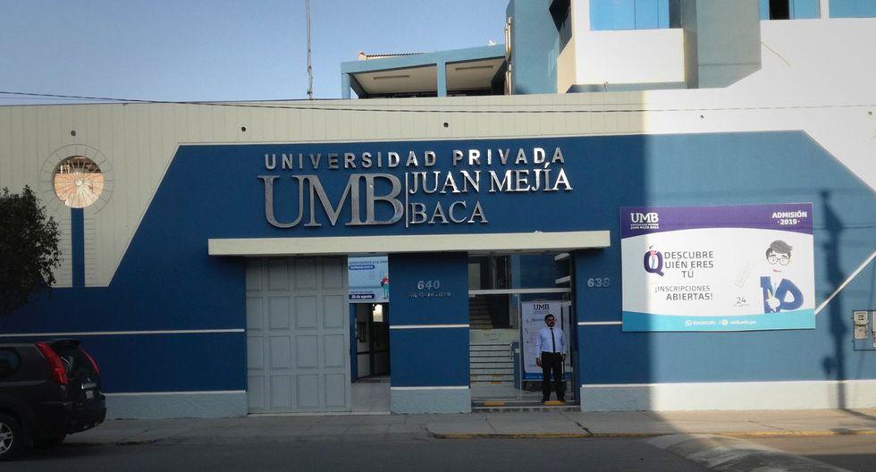 La Universidad Privada Juan Mejía Baca, de Chiclayo, no evidenció el cumplimiento de su propia planificación, según la Superintendencia Nacional de Educación Superior Universitaria.