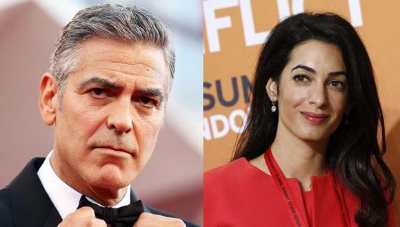 George Clooney se negó a firmar acuerdo de bienes separados