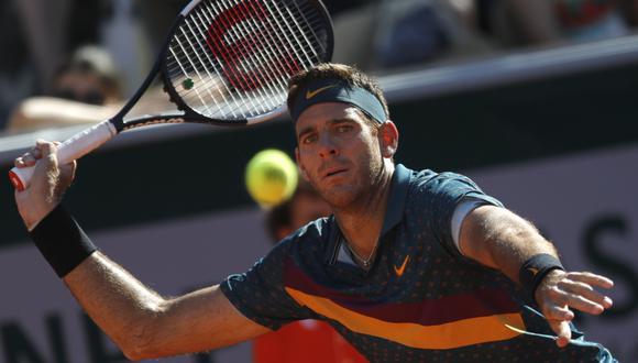 Del Potro vs. Thompson EN VIVO vía ESPN: segundo set por tercera ronda de Roland Garros | EN DIRECTO. (Foto: AFP)