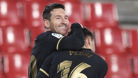 Barcelona se enfrentará este miércoles 3 de febrero al Granada. (Foto: AFP)