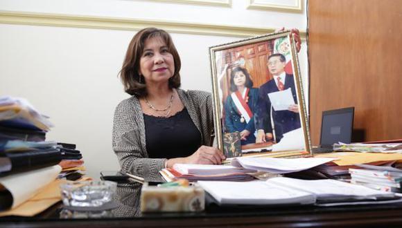 """Martha Chávez sobre autogolpe de Alberto Fujimori: """"Lo aplaudí"""""""