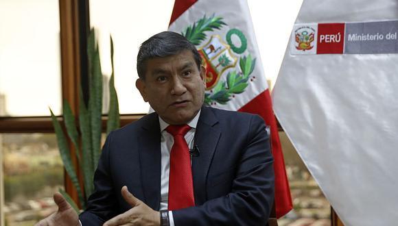 Carlos Morán detalló que las multas tendrán un valor de entre 86 y 430 soles. (Foto: Andina)