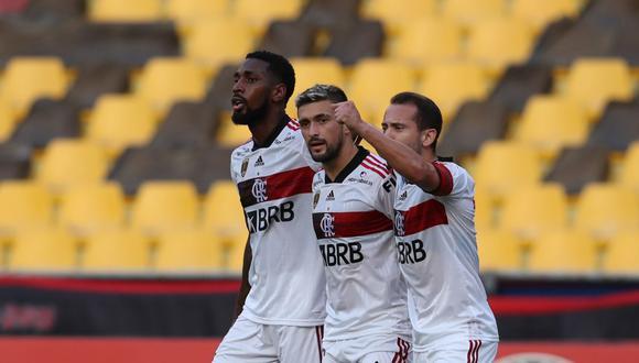 Flamengo sumó 9 puntos en el Grupo A de la Copa Libertadores 2020. (Foto: AFP)