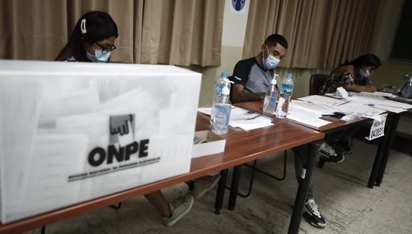 La ONPE informó que, en el plazo de ley, llegaron a instalarse 83,011 (99.96 %) mesas de sufragio de un total de 83,048 para el desarrollo de las elecciones generales. (Foto: César Campos | GEC)