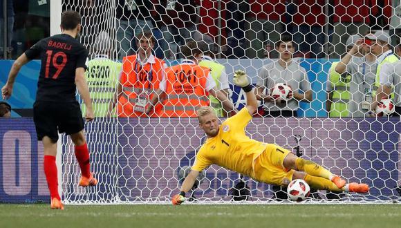 Croacia vs. Dinamarca: los remates fallados en la tanda de penales por el pase a cuartos del Mundial. (Foto: AFP)