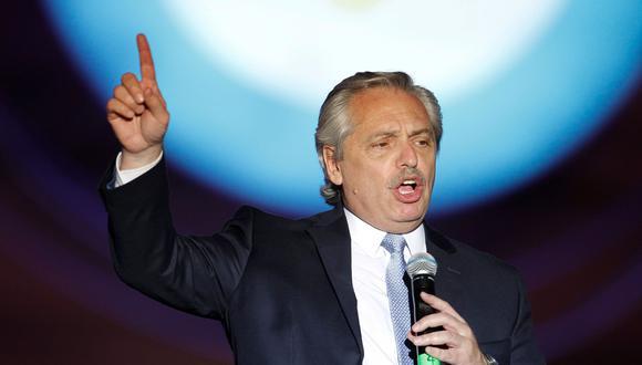 Alberto Fernández, presidente de Argentina. (Foto: AFP)