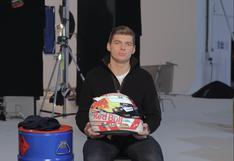 F1: Max Verstappen presenta su nuevo casco para la temporada 2019 | VIDEO