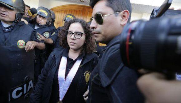 Sánchez precisó que la investigación sobre las irregularidades en la contratación de parte de la Policía de Mafeky Motor e Iza Motors está a cargo de la fiscalía anticorrupción. Añadió que ella está revisando la demora en la entrega de la información. (Foto: GEC)