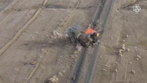 Estado Islámico muestra sus ataques desde un drone [VIDEO]