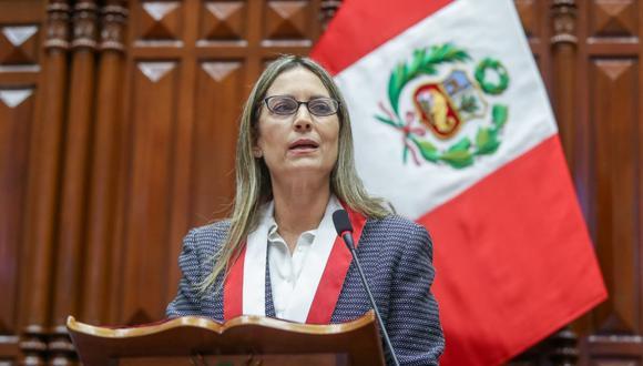 """Presidenta del Congreso sobre traslado de Vladimiro Montesinos: """"Lo tomo con mucha preocupación. Foto: archivo GEC"""