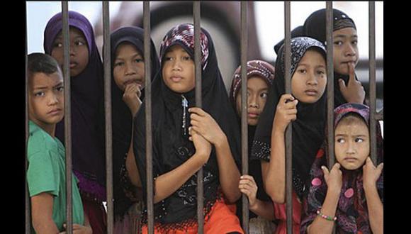 Tailandia: Miles de niños inmigrantes están encarcelados