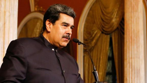 El presidente de Venezuela, Nicolás Maduro, habla en la sesión de clausura de la Asamblea Nacional Constituyente de Venezuela en Caracas, Venezuela. (Foto: Palacio de Miraflores / REUTERS).