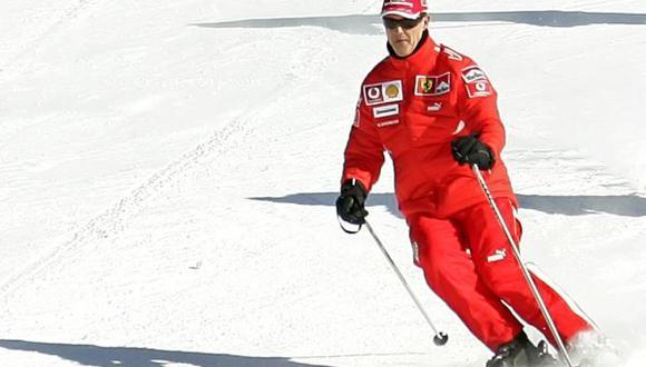 Turista alemán habría grabado el accidente de Michael Schumacher