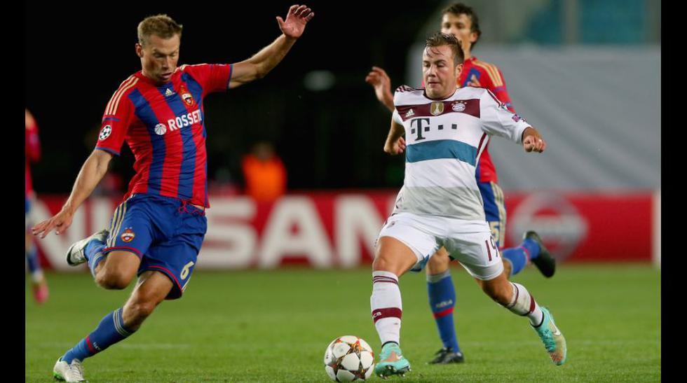CSKA vs. Bayern Múnich: las mejores imágenes del triunfo alemán - 3