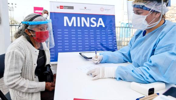Este viernes 23 se inicia la segunda semana de vacunación a adultos mayores de 80 años residentes de 27 distritos de Lima y Callao. (Foto: Minsa)