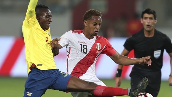 Perú mostró muchas limitaciones para generar peligro en campo rival y sufrió con la velocidad de los atacantes ecuatorianos. El resultado fue 2-0 para la visita. (Foto: AP)