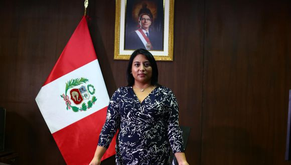"Política: Ministra de Justicia, Ana Neyra: ""Ninguna campaña ..."
