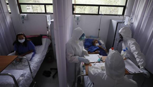 Coronavirus en México   Últimas noticias   Último minuto: reporte de infectados y muertos hoy, lunes 19 de julio del 2021   Covid-19. (Foto: AP/Rebecca Blackwell).