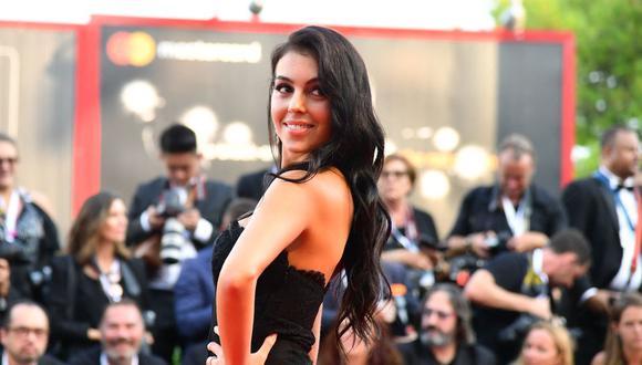 La modelo Georgina Rodríguez, pareja de Cristiano Ronaldo, tendrá su reality en Netflix. (Foto: Vincenzo PINTO / AFP)