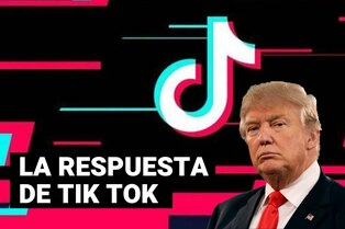 """Tik Tok responde a Donald Trump: """"No planeamos ir a ningún sitio"""""""