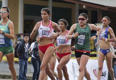 Perú campeón sudamericano en marcha atlética en damas