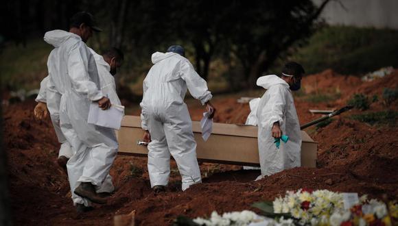 Minsa actualizó la cifras de contagios y fallecimientos este martes 15 de junio. (Foto: EFE/Fernando Bizerra Jr).