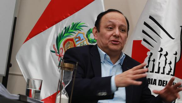 Walter Gutiérrez, Defensor del Pueblo. [Foto: Lino Chipana Obregón]