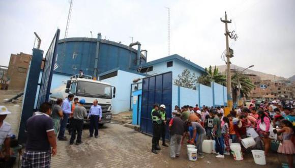 De acuerdo a la municipalidad en coordinación con Sedapal, cisternas brindarán agua potable de manera gratuita en estos puntos de distribución. (Imagen referencial/GEC)