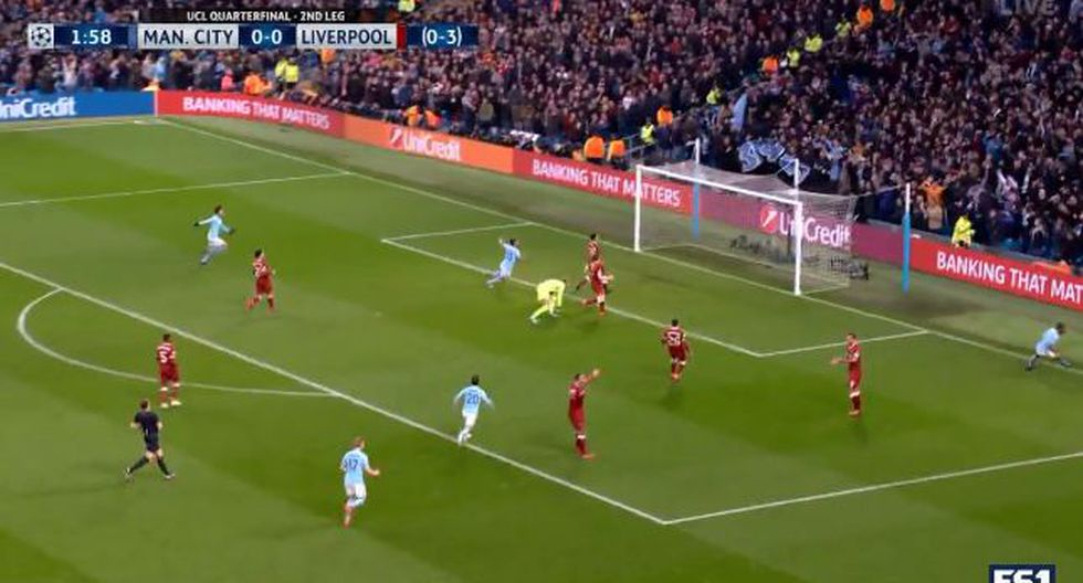 Manchester City vs. Liverpool: el gol de Gabriel Jesus en solo dos minutos | VIDEO