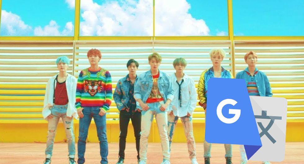 Google Traductor te reta para saber quién canta mejor 'DNA', el tema del 2017 de los BTS. (Foto: Captura)