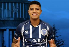Wilder Cartagena prepara su debut en Godoy Cruz ante Boca Juniors