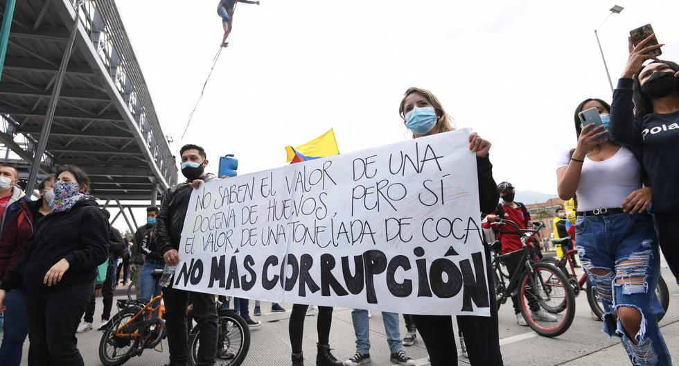 National strike in Colombia: blockades are reported in various parts of Bogotá