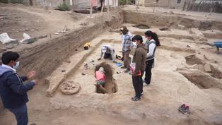 Lambayeque: Descubren restos de 29 personas con más de mil años de antigüedad