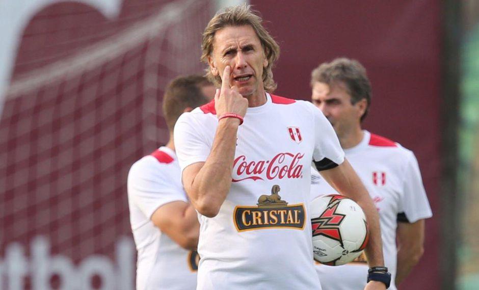 Ricardo Gareca con la selección peruana tiene una medalla de bronca y una de plata en la Copa América.