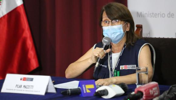 Pilar Mazzeti afirmó que 40 establecimiento vienen ejecutando una vigilancia mayor de la pandemia en todo el país. (Foto: GEC)