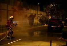 Jesús María: controlan fuga de gas de vehículo en el Jr. Lloque Yupanqui | FOTOS